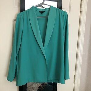 Topshop Green Blazer Sz 6